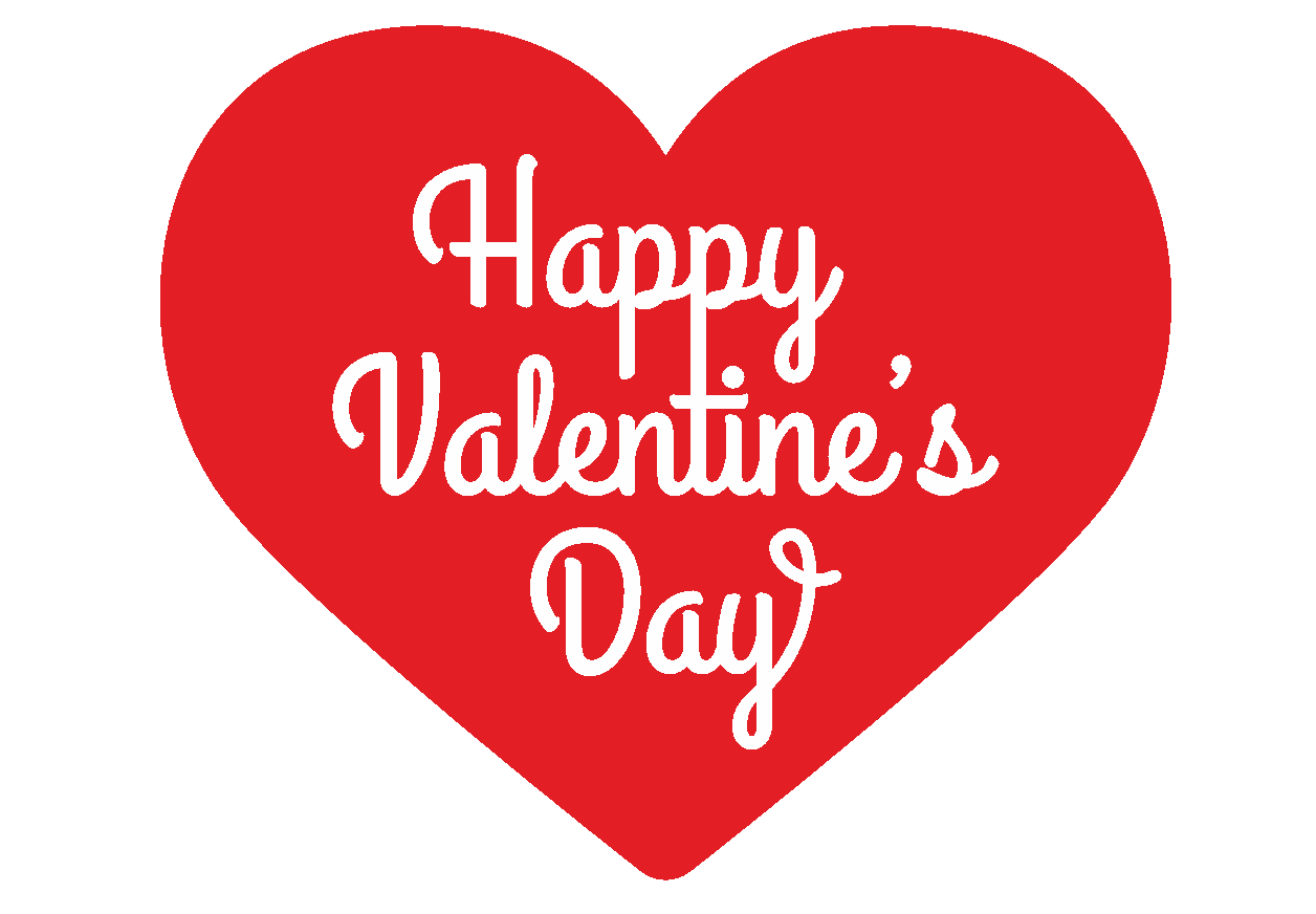 Happy Valentines Day Cut Out Png 22149