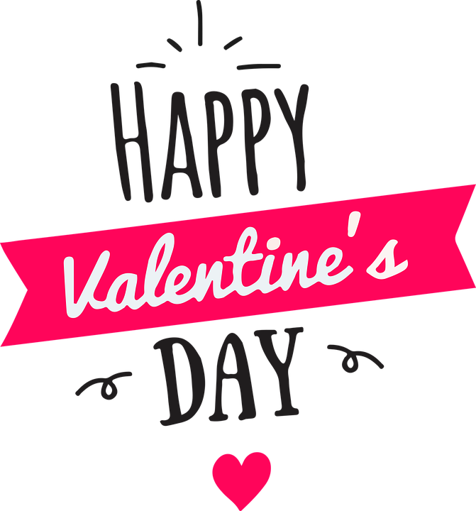 Happy Valentines Day Heart Icon Clipart 22137 Transparentpng