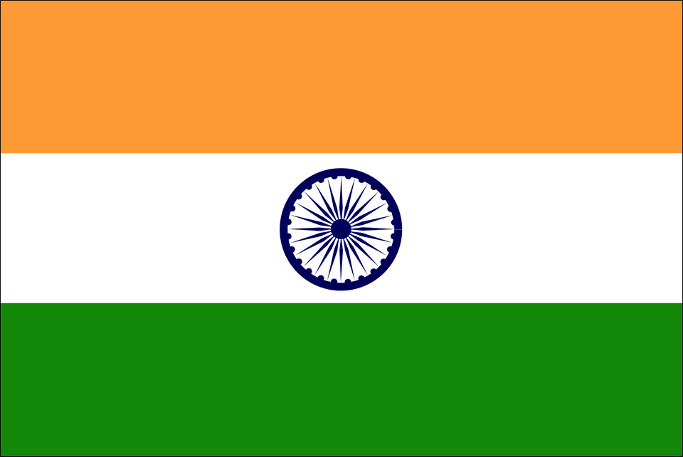 India Flag Png 6819