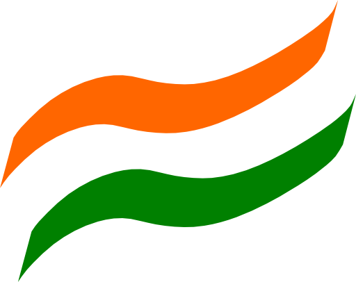 Indian Flag Clipart 6833