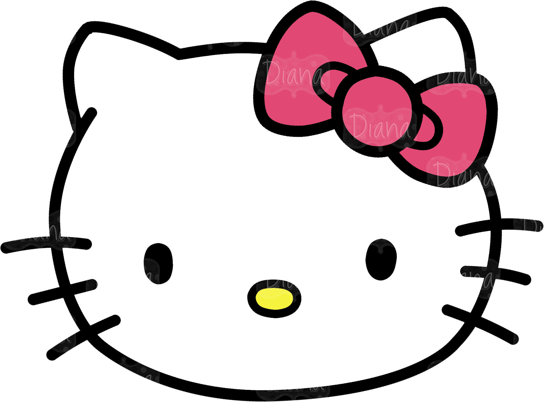 hello kitty head clipart pictures 2330 transparentpng rh transparentpng com