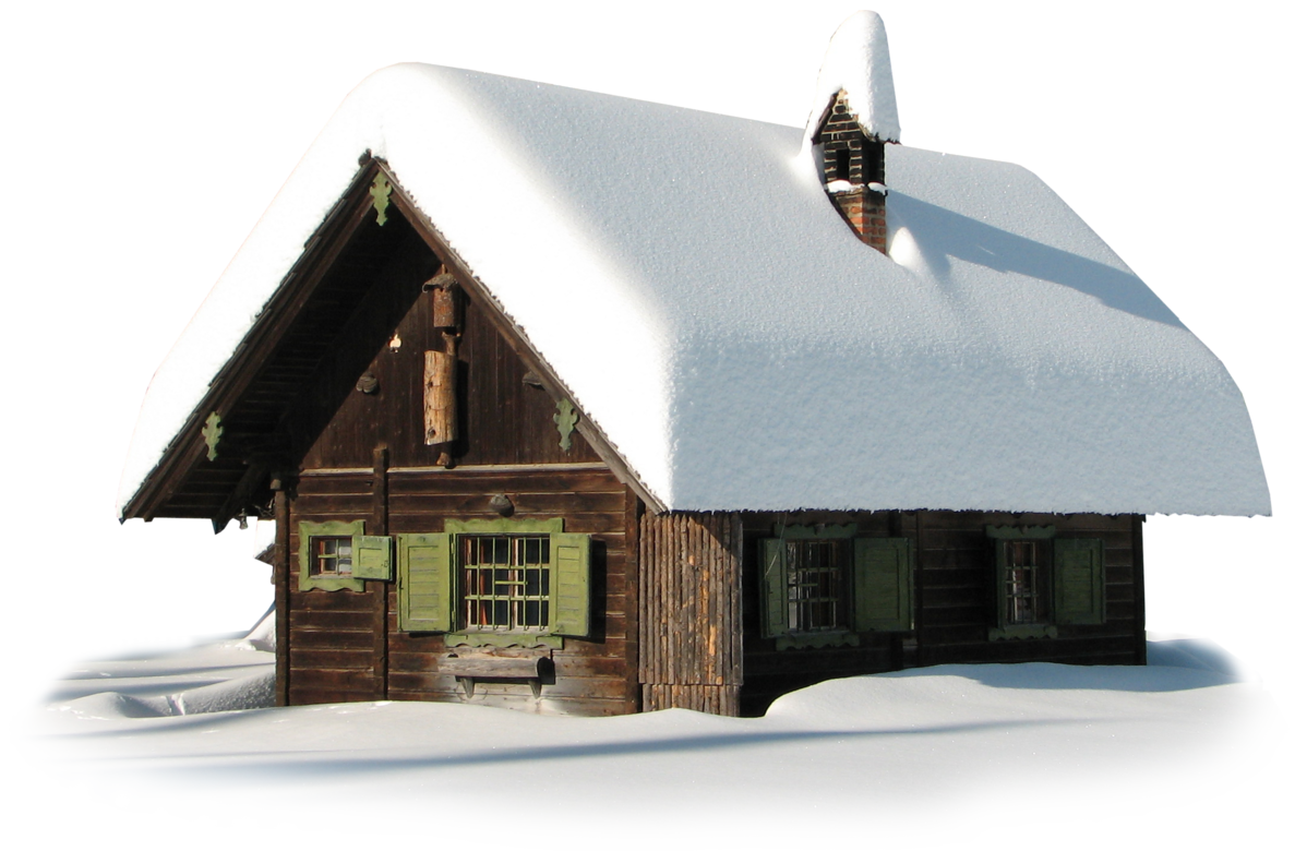 Winter House Clipart PNG File 20063