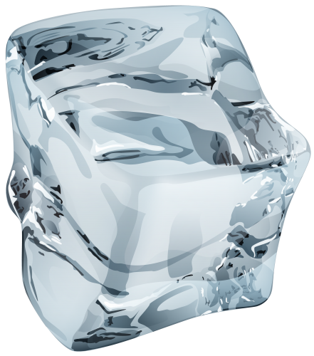 Single Ice Crystal Transparent Background 26295
