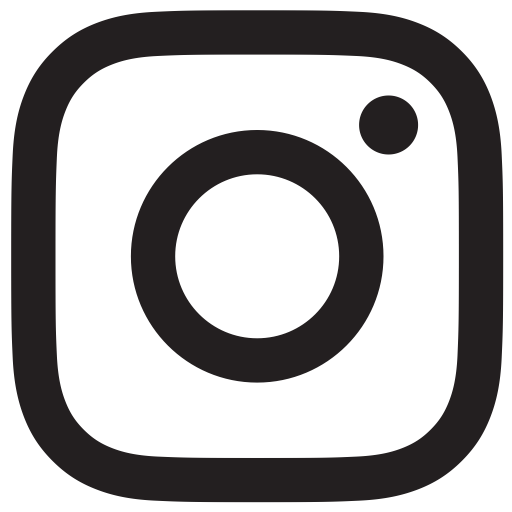 Black White Instagram Logo Transparent Icon 13588