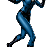 Game Blue Invisible Woman Png Transparent Images  5826