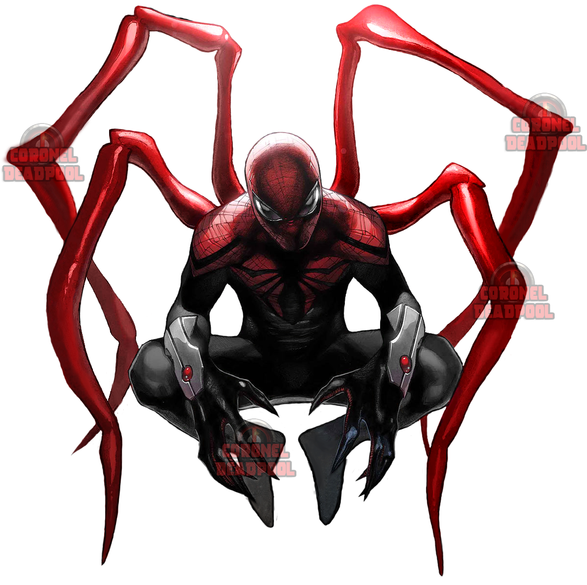 Iron Spiderman Marvel Transparent