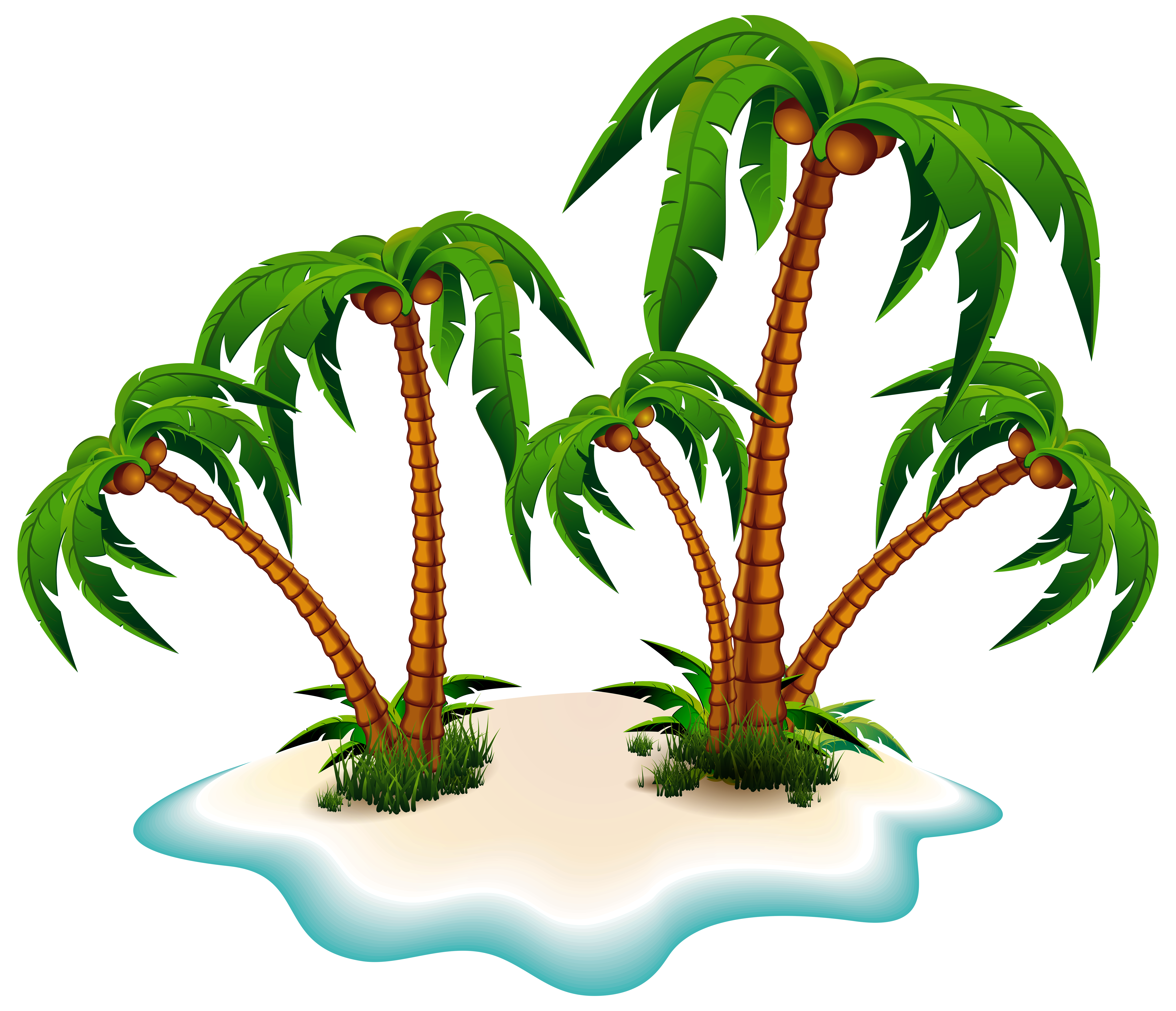 Island Cut Out PNG Images