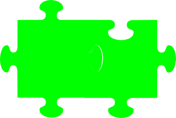 Green Jigsaw Puzzle Clip Art Png 3483