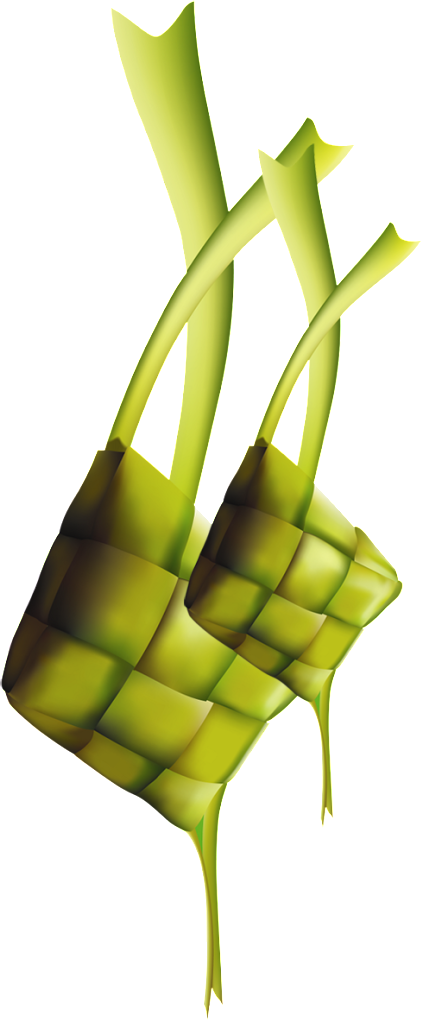 Ketupat Clipart Transparent 14782