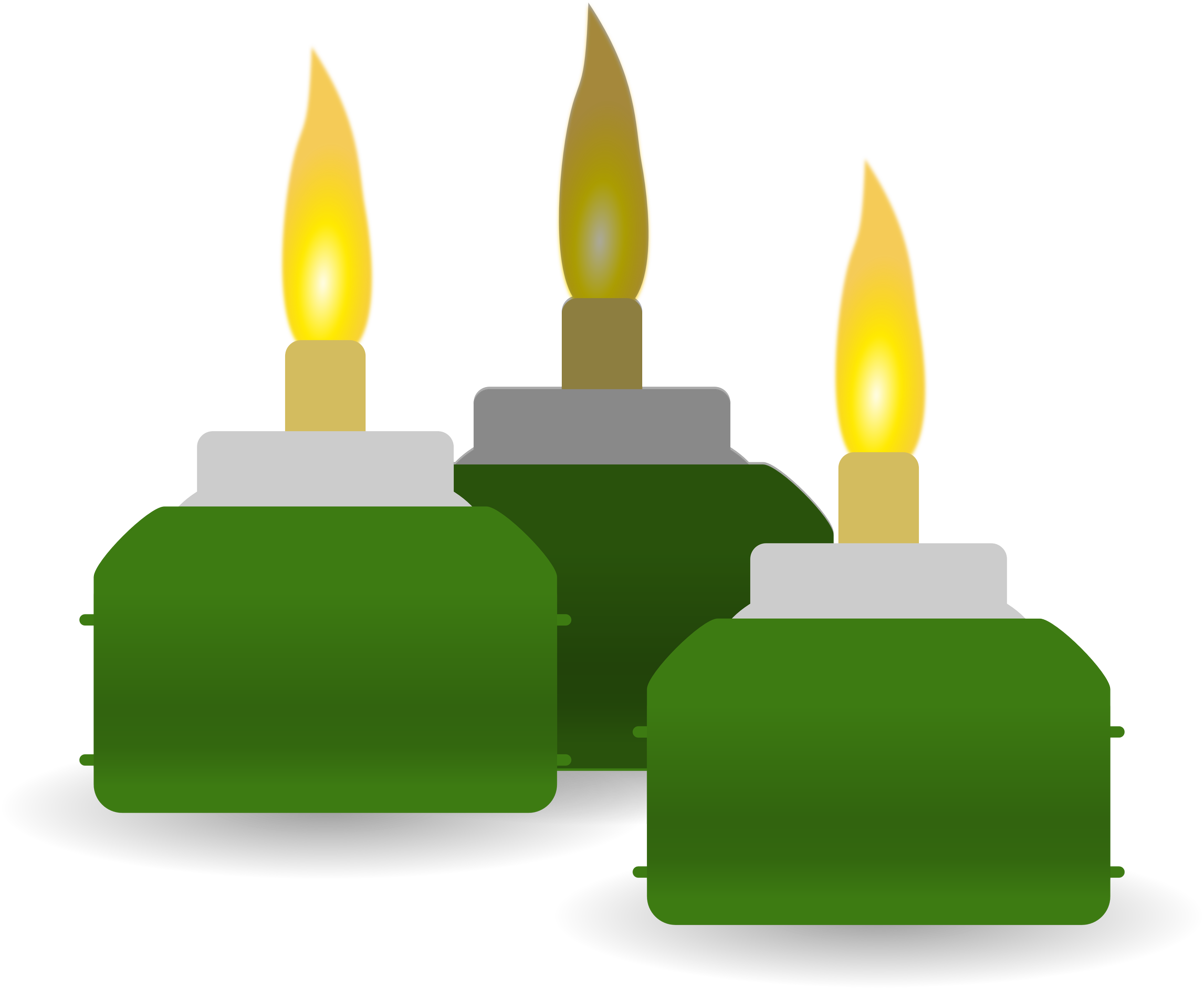 Ketupat Candles Transparent Pic 14792