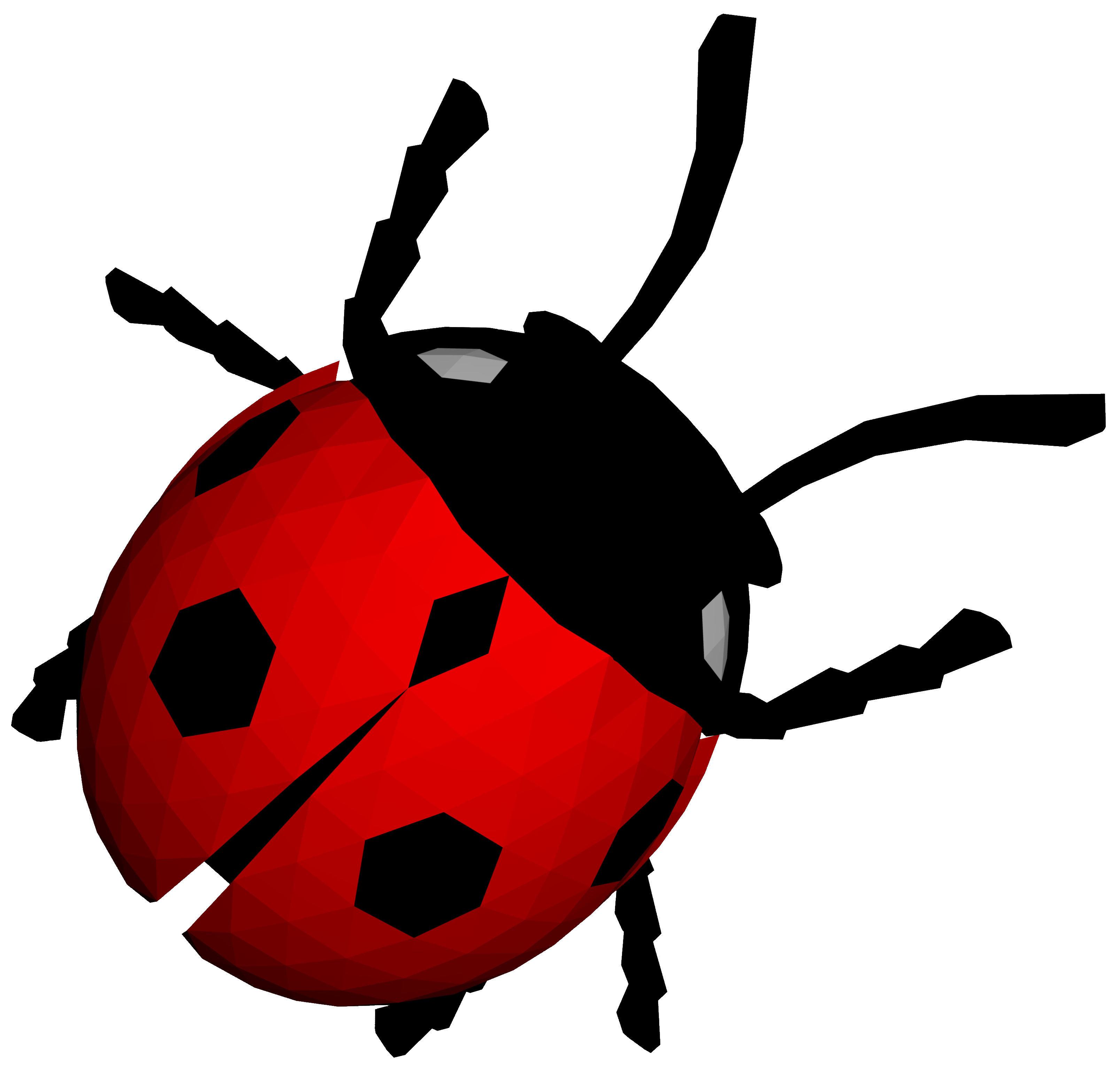 Ladybug Simple PNG Images