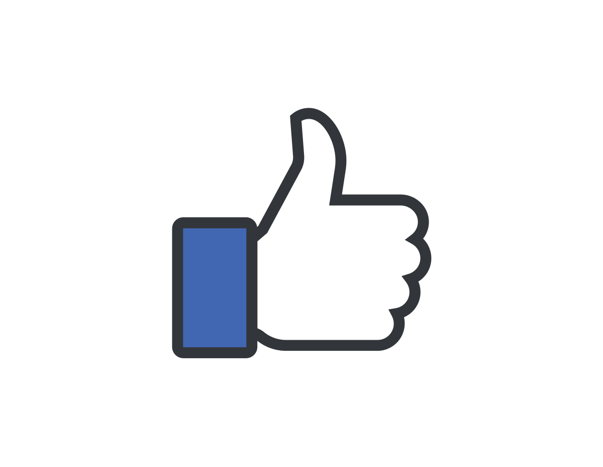 White Like Button Clipart Icon, Social Network, Internet, Computer, Phone, Era 28057