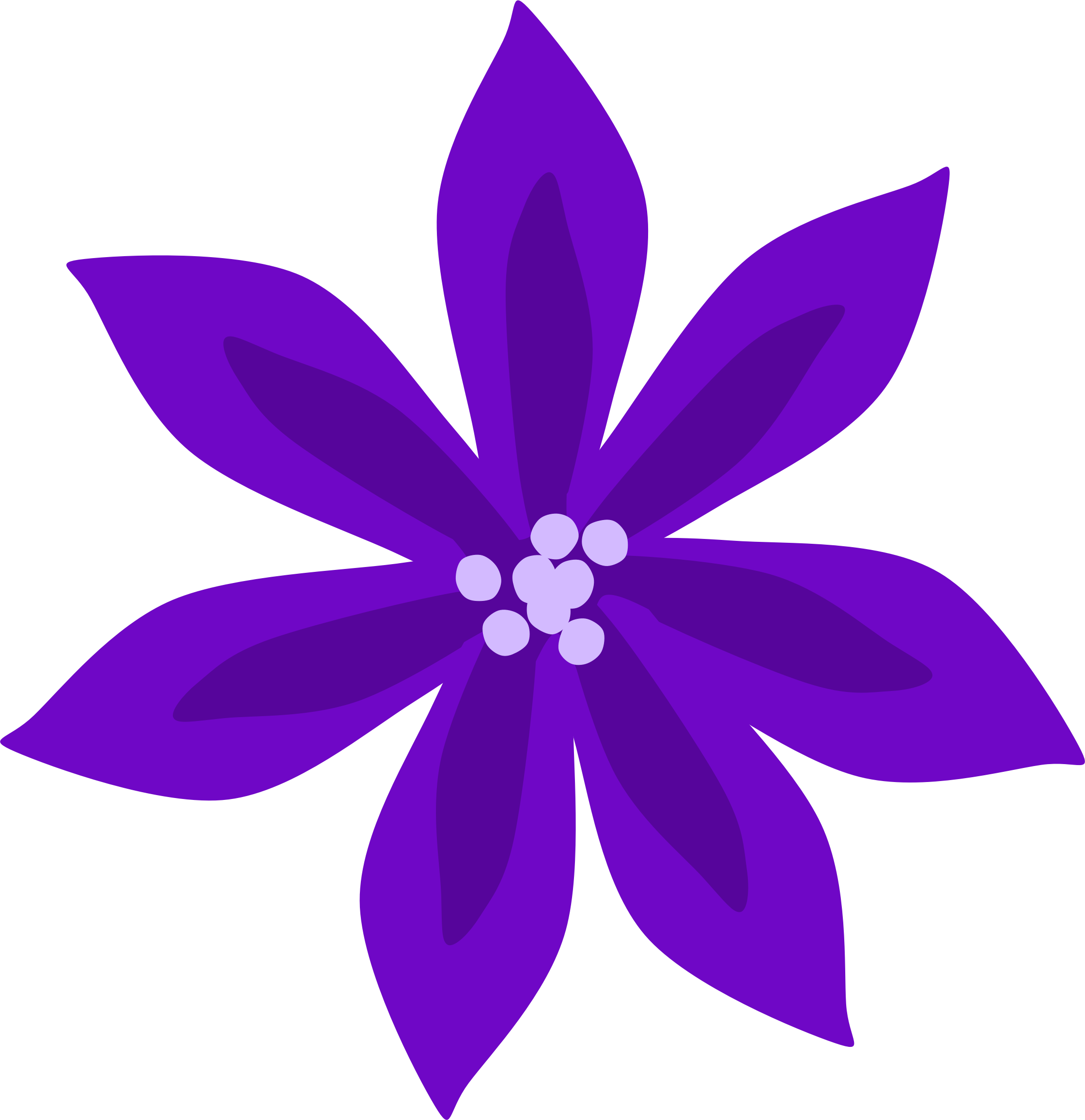 Lily Icon Clipart 18557