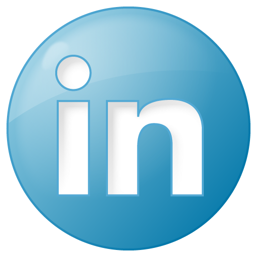 Social Linkedin Button Blue Icon Png Clipart 5853