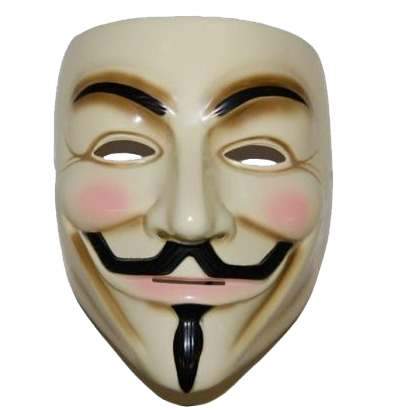 Anonymous Smiling Mask Png Transparent Images  473