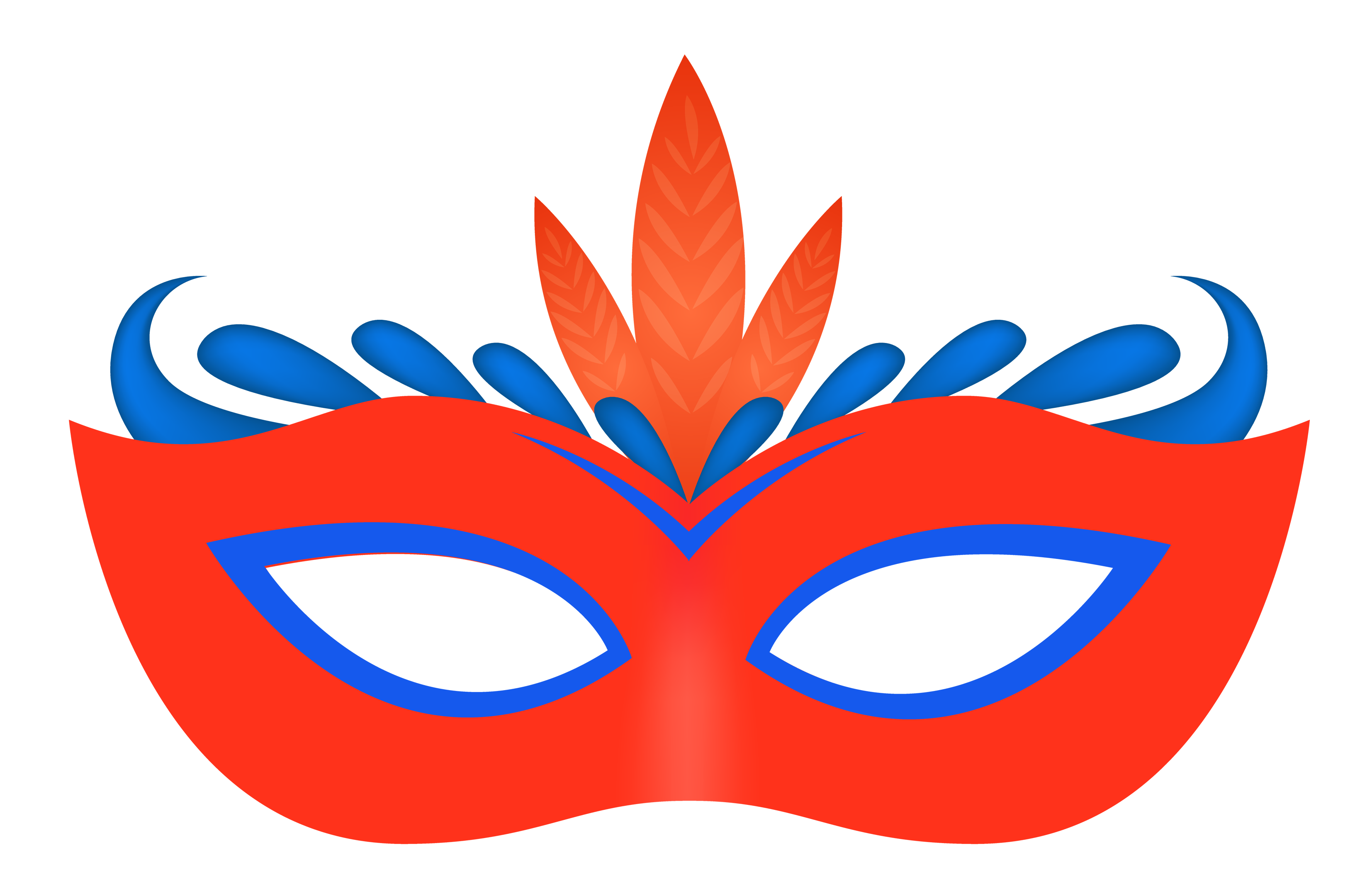 Carnival Eye Mask Png Image