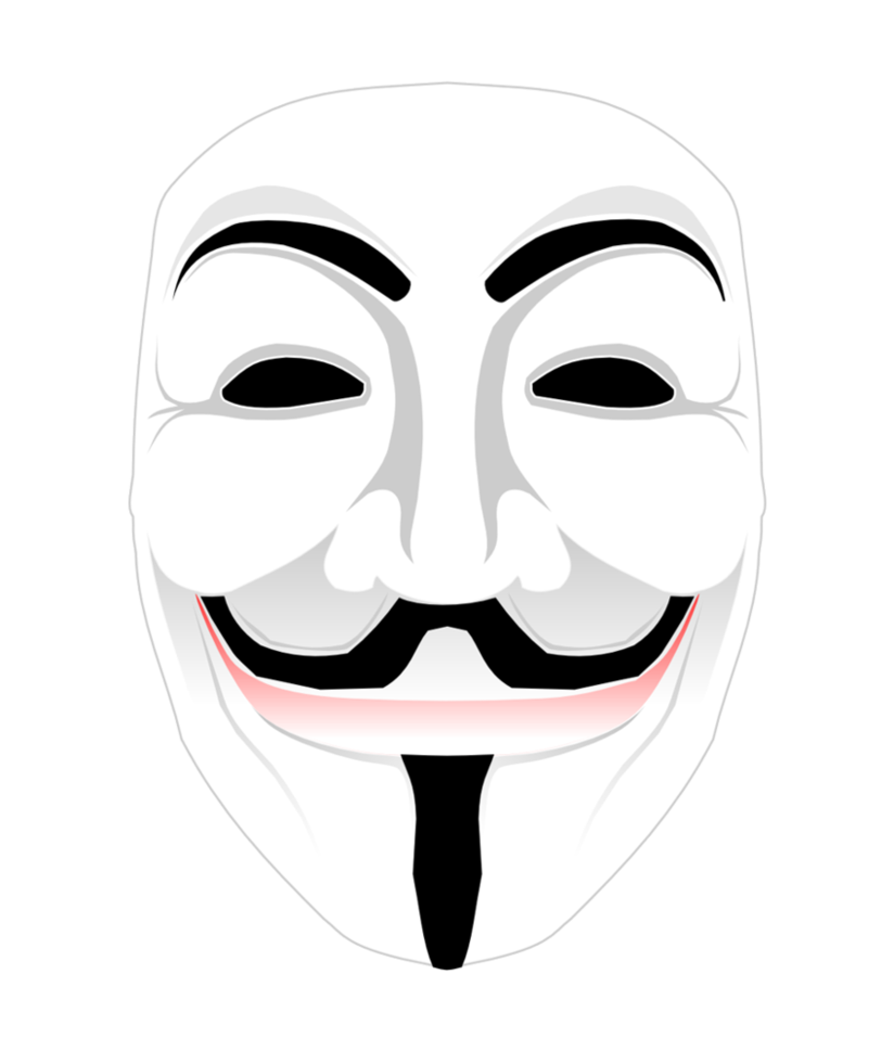 Guy Fawkes Mask 445