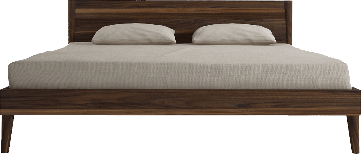 Bed Mattress, Spring Bearing, Leather Heading Wooden Png 2834