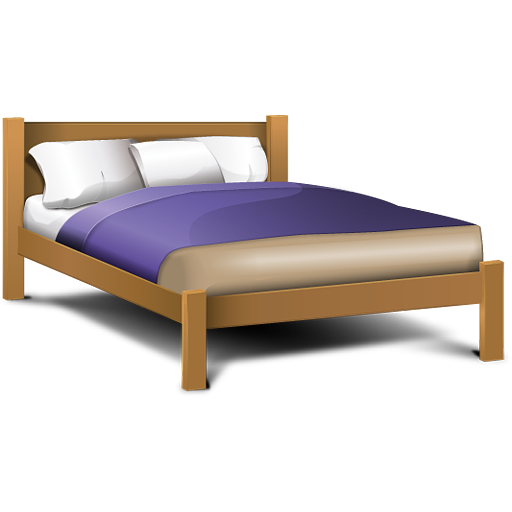 Double Bed, Hospital Bed, Sleep, Soft, Png Image 2844