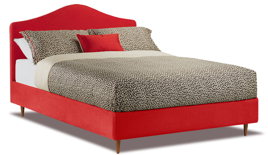 Red Bed, Cushion Pillow, Chipboard, Wood, Classic Mattress, Png 2840