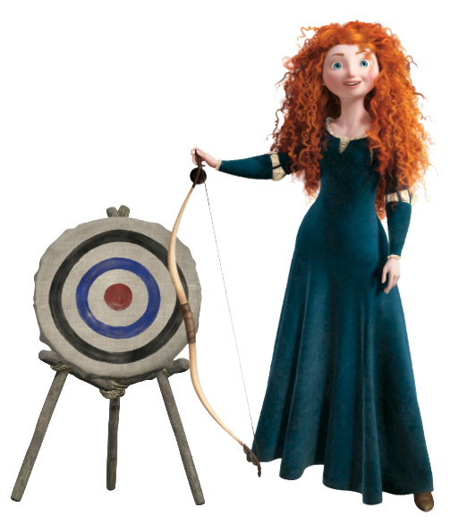 Merida Archer Clipart 1827