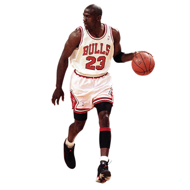 Michael Jordan Transparent