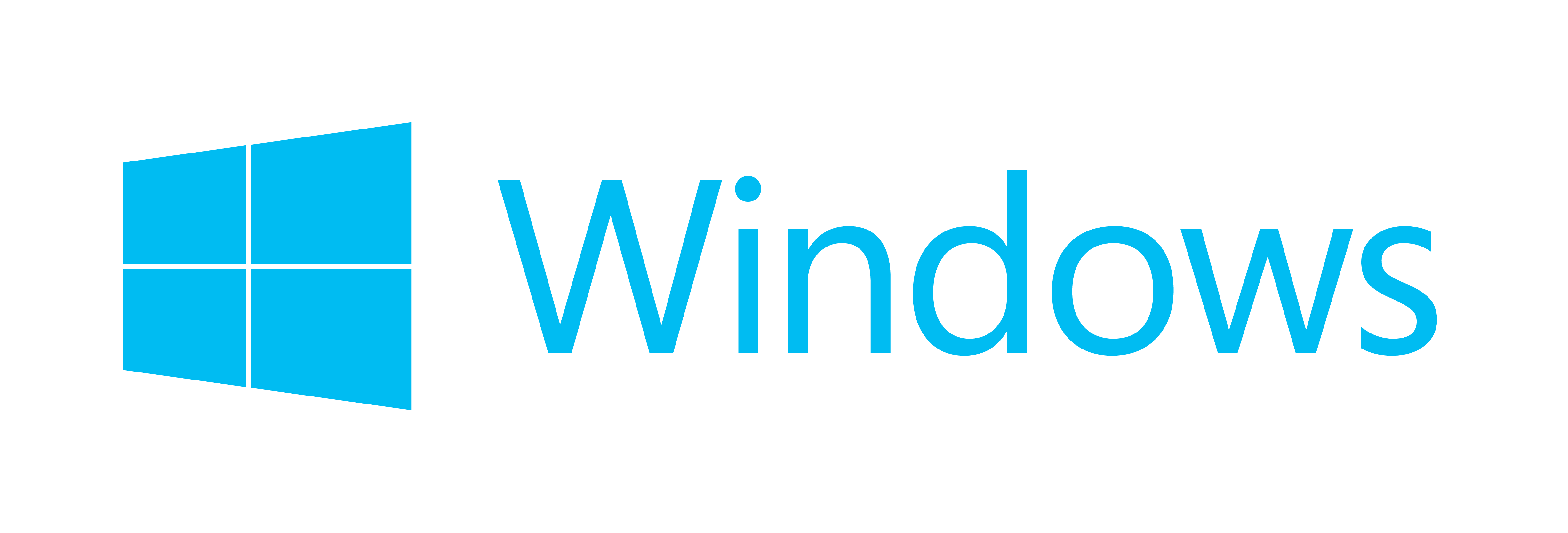 Microsoft Windows Blue Logo Clipart Photo