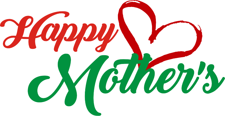 Red And Green Mothers Day Png Transparent 4558
