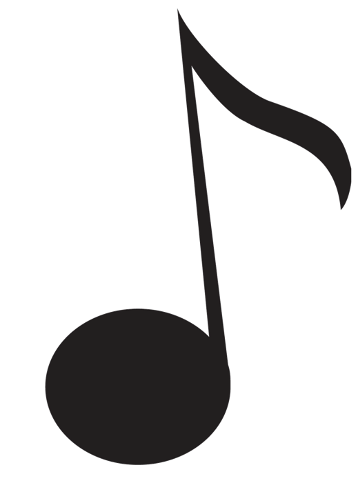 Black Music Notes Png 3758