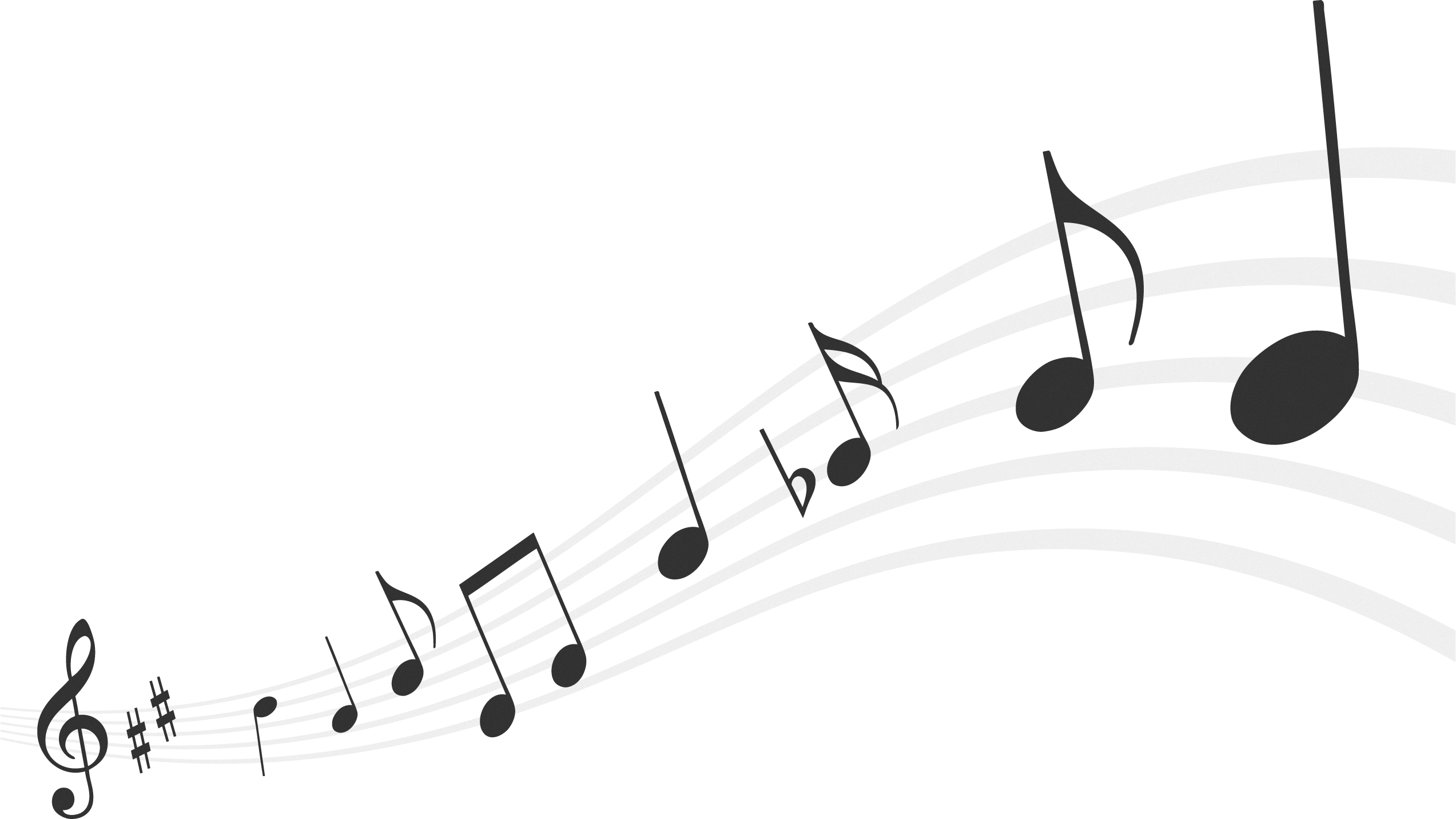 Musical Notes Png 3744