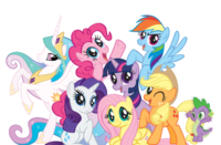 My Little Pony Colored Transparent Pictures 26089