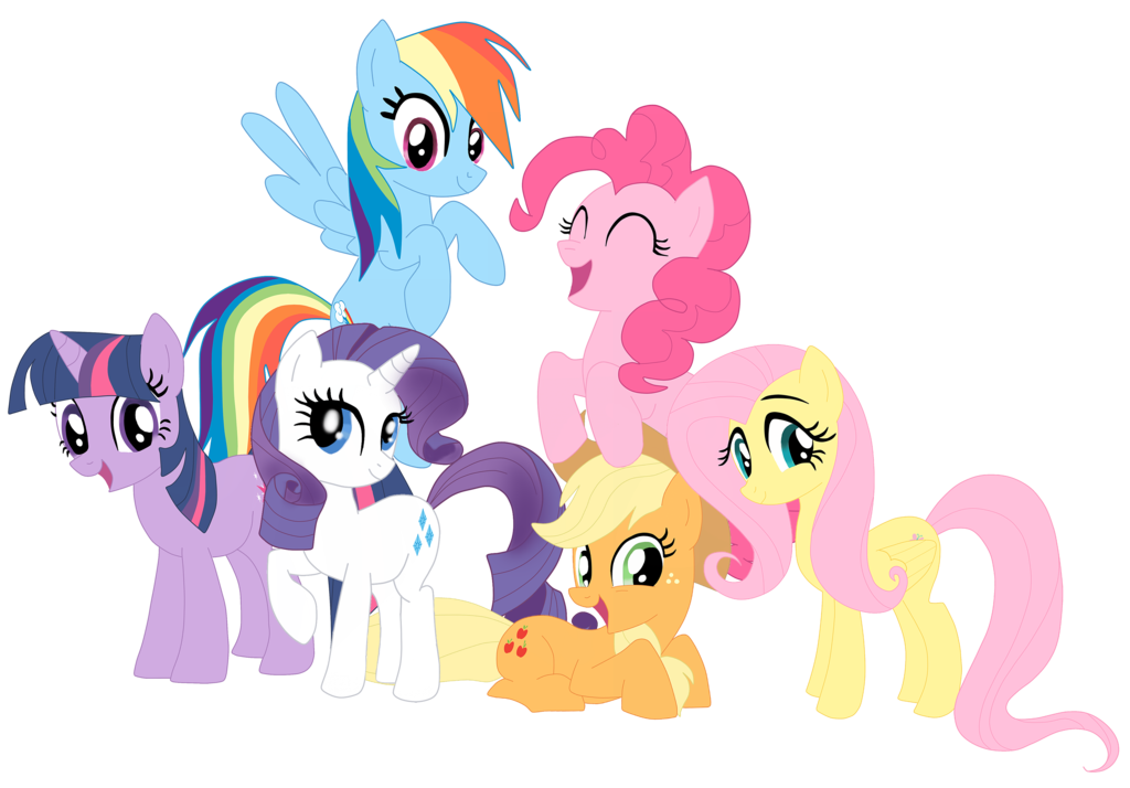 My Little Pony Team İmages Transparent 26096