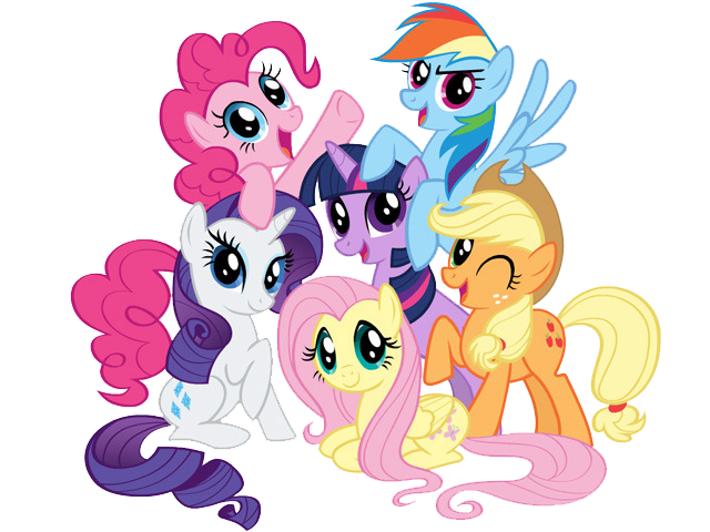 My Little Pony Clipart Colored Photos 26088