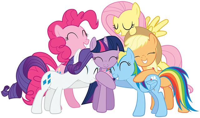 Happy My Little Pony Transparent 26101