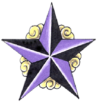 Nautical Star Tattoos Free Download Transparent 7370