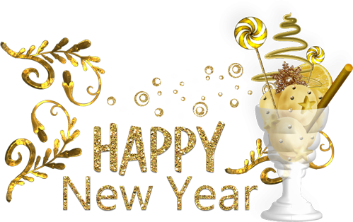 Happy New Year Png Transparent Picture 4119