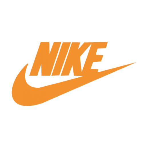 Nike Logo Orange PNG 21185
