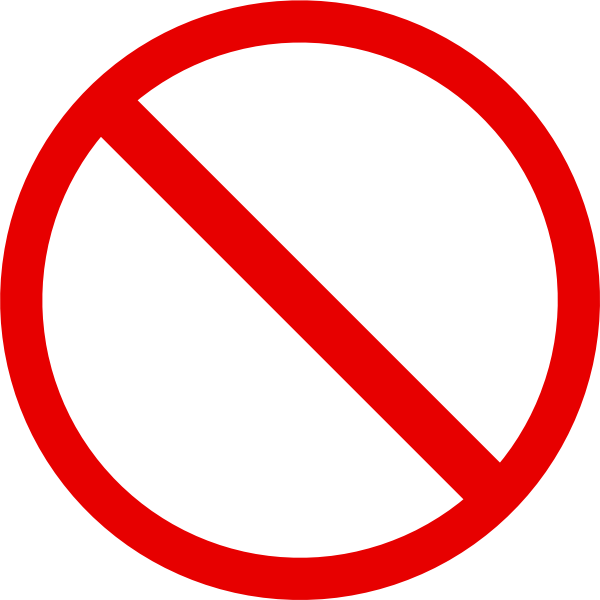 Blank Warning, Symbol, No, Smoking, Cigarette 6647
