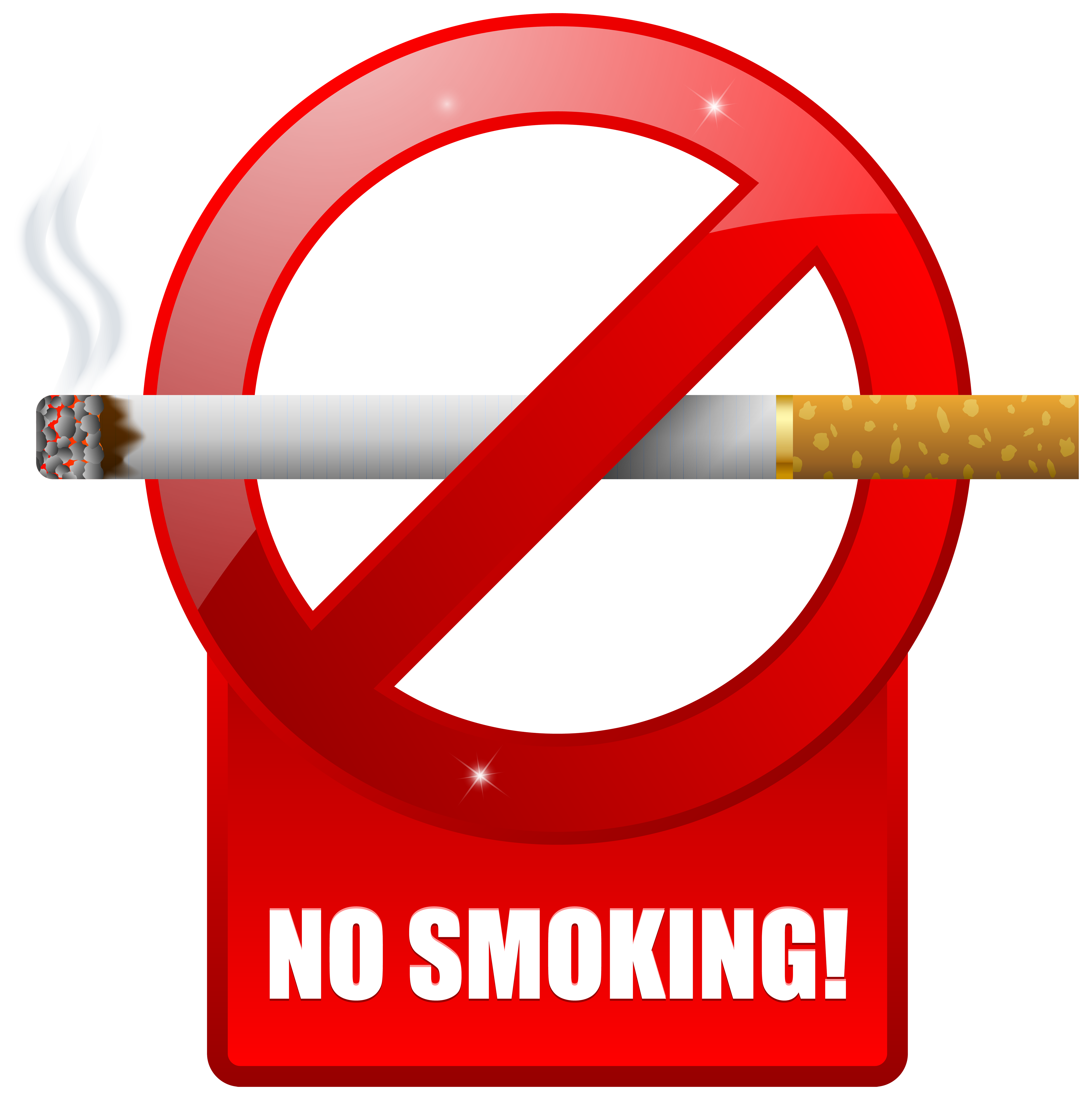 No Smoking Warning Sign Png