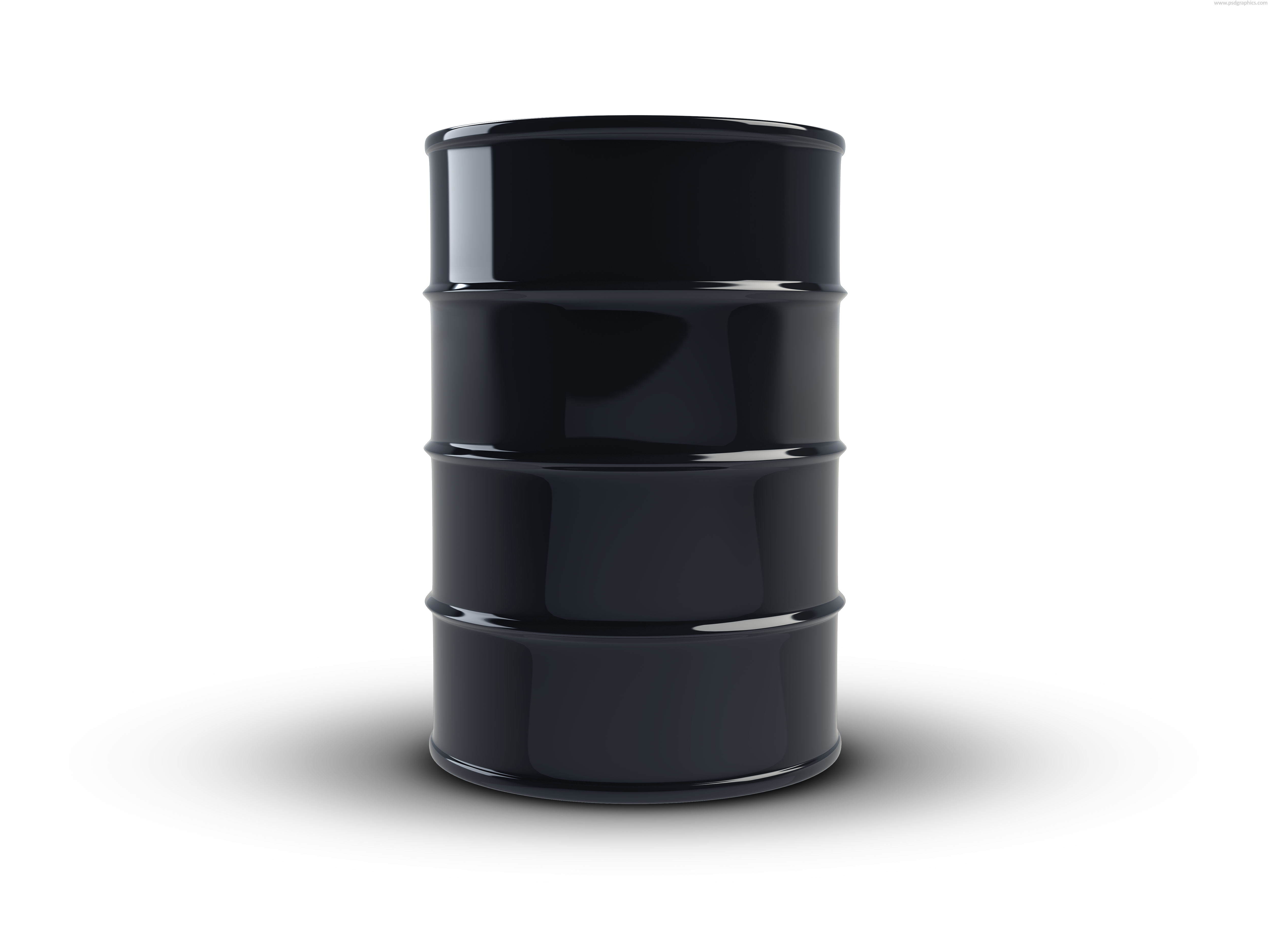 Black Oil Barrel And Barrels Png