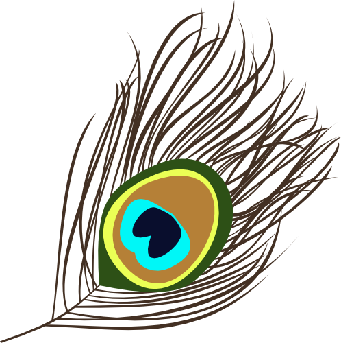 Peacock Feather Eye Png Transparent Images 3117