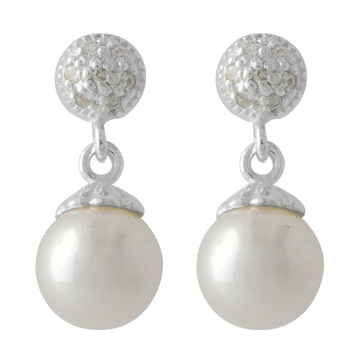 Pure Pearls, Beads, Earrings, Png 3414