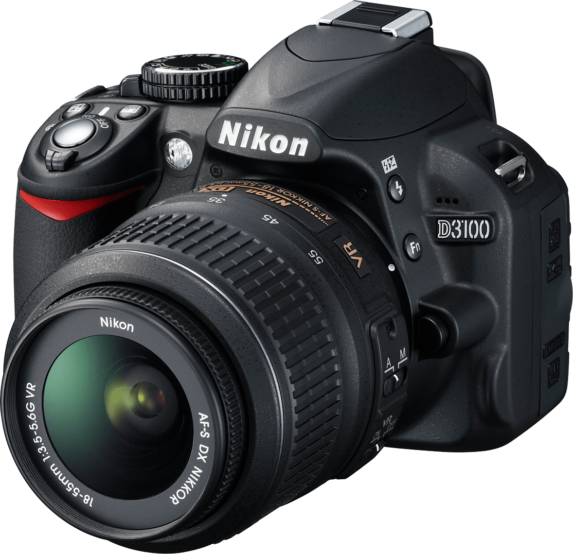 Nikon D3100 Photo Camera PNG Picture 20759