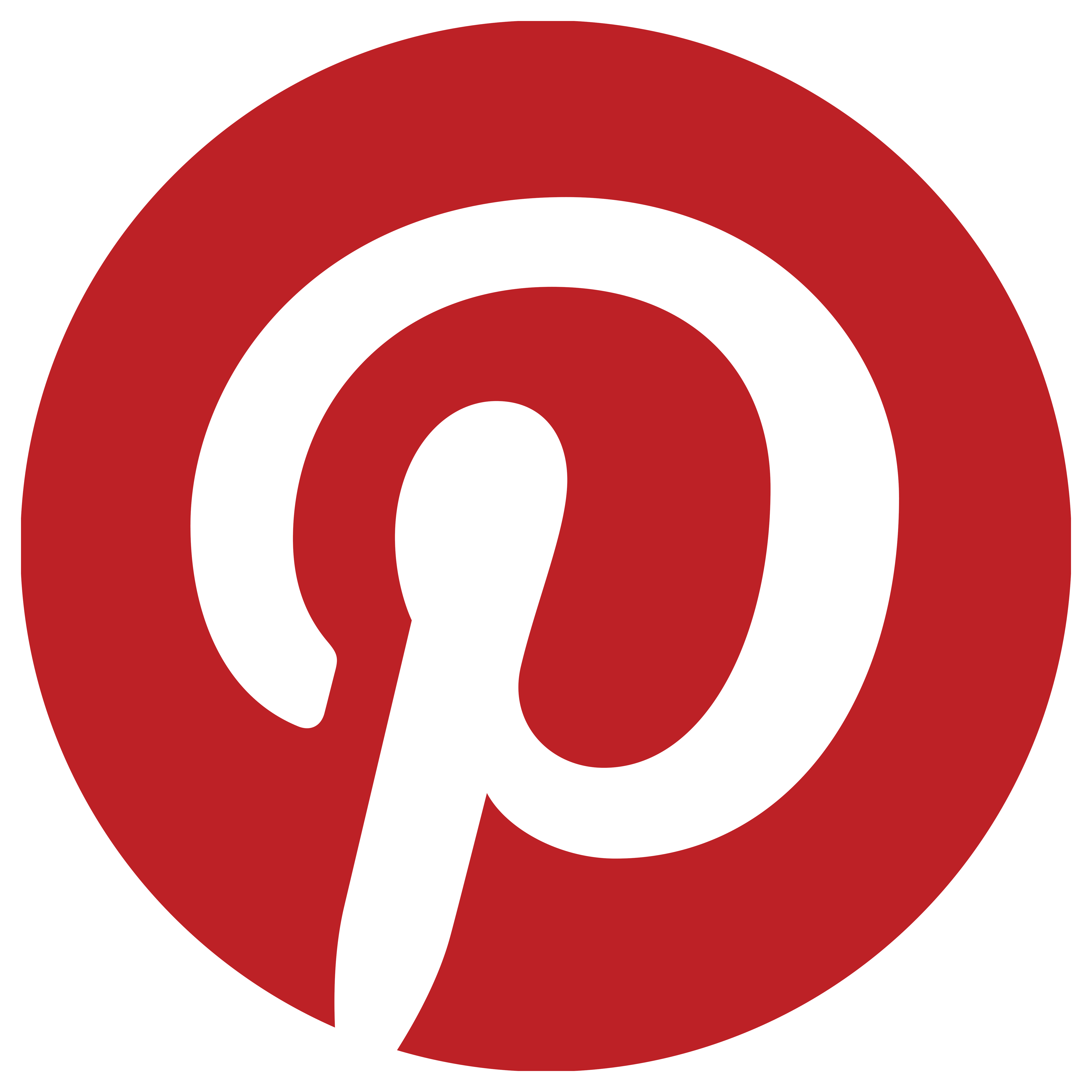 Pinterest Red Play Logos Images