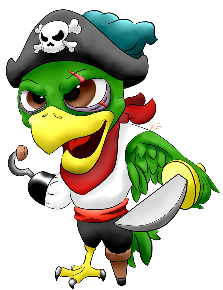 Pirate Parrot PNG Picture 21123