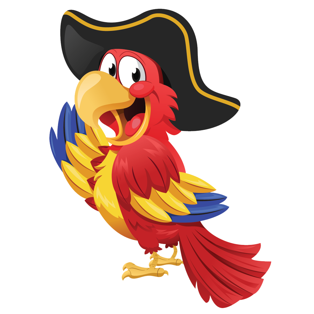 Parrot Pirate Transparent Background 21110