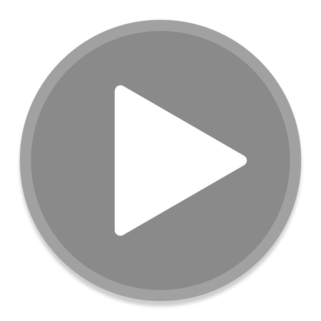 Play Button Vector 12800