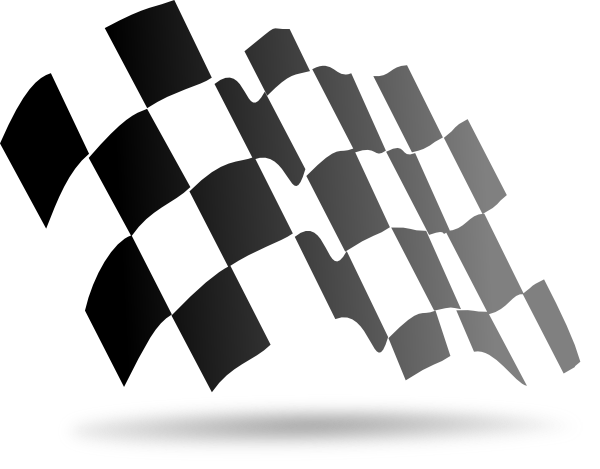 Sports Checkered Flag Png 1754