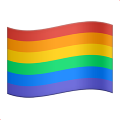 Rainbow Flag And Apple Pictures  2046
