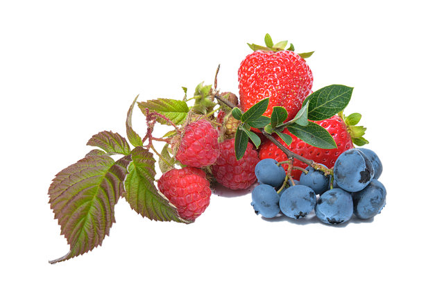 Raspberry And Grape Transparent Picture 25926